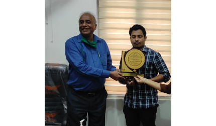 Adieu to Dhaneesh - Company Secretary